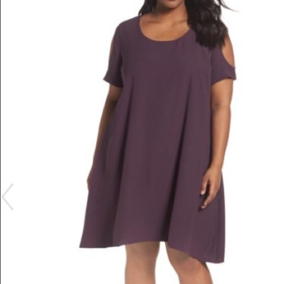 Purple Swing Dress